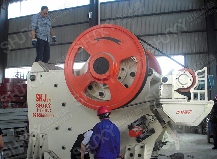 SKJ Series Jaw Crusher