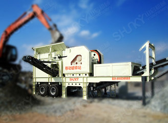 Jaw Mobile Crushing Plant